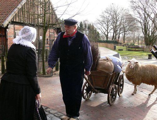 """Weliswaar de laatste keer """"kerstavond met Boer Harm"""""""