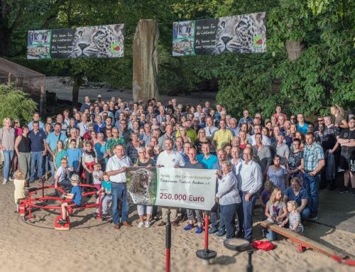 Tierpark Nordhorn erhält 250.000 Euro für die Leoparden!