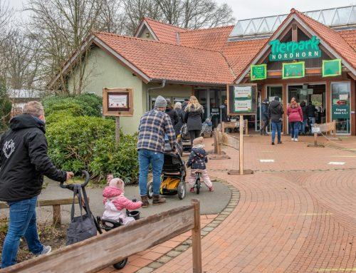 Tierpark Nordhorn weiter geöffnet!