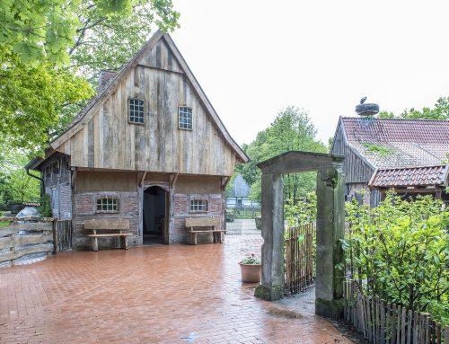 Historische Schmiede im Tierpark Nordhorn eingeweiht